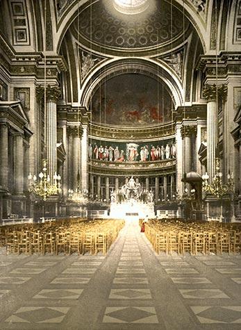 L'église de la Madeleine, Napoleon I, Neo-Classical, paris