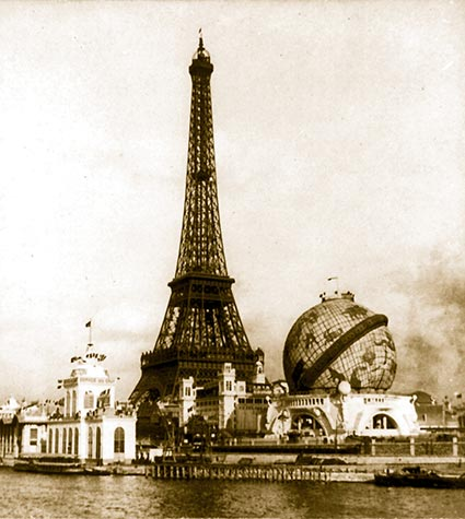 places and spaces great images of paris exposition of 1900. Black Bedroom Furniture Sets. Home Design Ideas