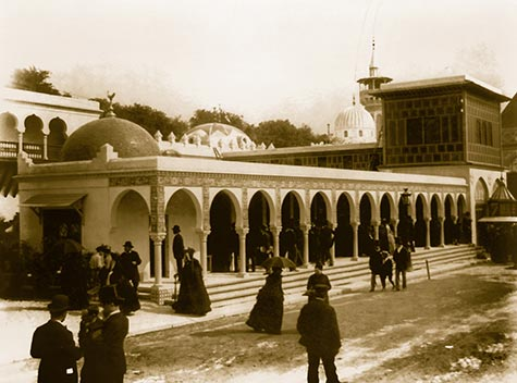Pavilion of Algeria, paris