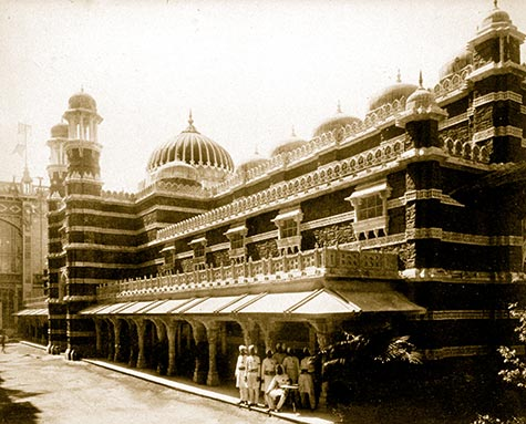Pavilion of India, paris