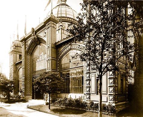 Pavilion of Uruguay, paris