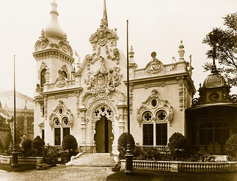 Pavilion of Venezuela, paris