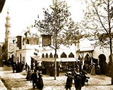Pavilions of Morocco, exposition universelle, paris france 1900