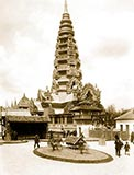 Pagoda of Ankor, paris universelle exposition 1900