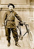 old photos of paris, Paris Policeman