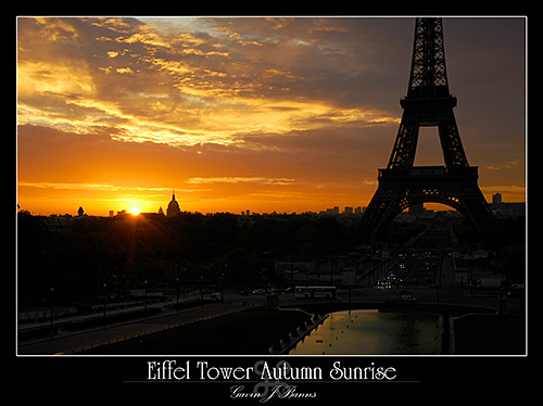 Eiffel Tower, Early Morning Sunrise, paris photos, photography, france, city, capital