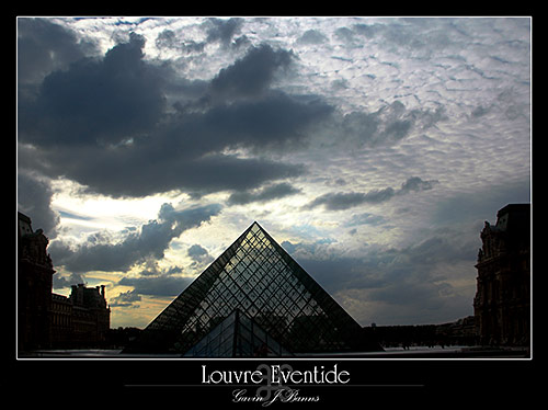 Louvre Pyramid, Eventide, paris photos, photography, france, city, capital